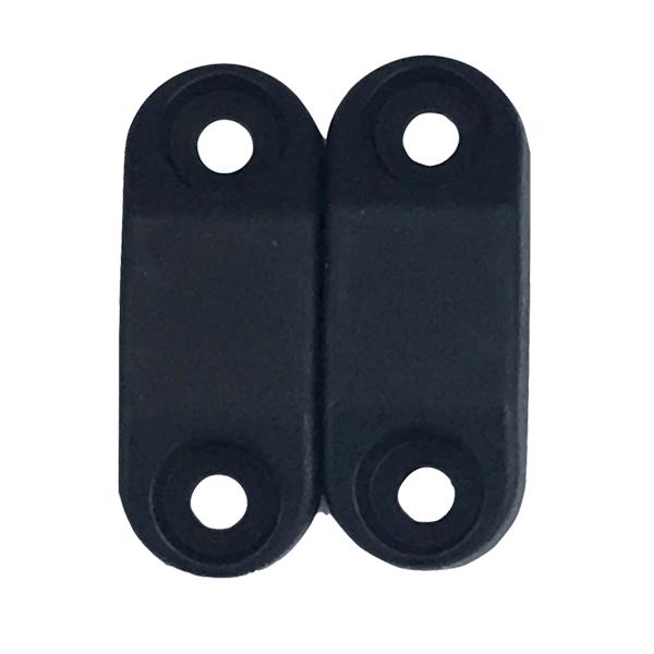 1 Set Black High Strength Magnetic Baggage Door Catch