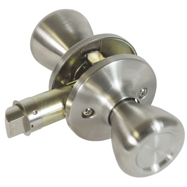 Non-Locking Knob Set - Stainless Steel