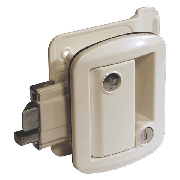 Secure Series White Entrance Lock