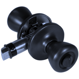 Locking Knob Set - Matte Black