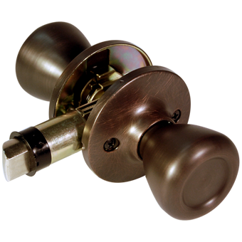 Non-Locking Knob Set - Old World Bronze