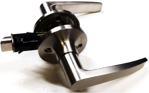 Non-Locking Lever Set - Brushed Satin Nickel