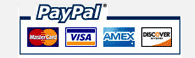 Paypal | Trustwave | Acredited Business | McAfee Secure